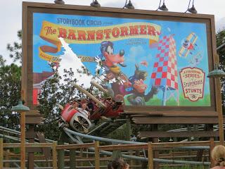 Walt Disney World's Barnstormer Ride Review