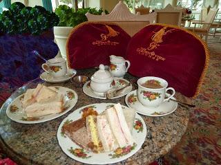 Disney Dining: High Tea – Afternoon Tea at Grand Floridian's Garden View Tea Room