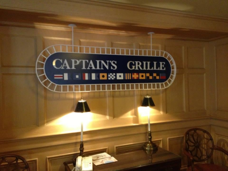 Walt Disney World Dining –Captain's Grille Review