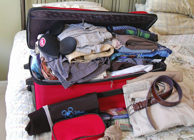 Packing Tips: Avoiding Over-Packing on a Disneyland or Walt Disney World Vacation