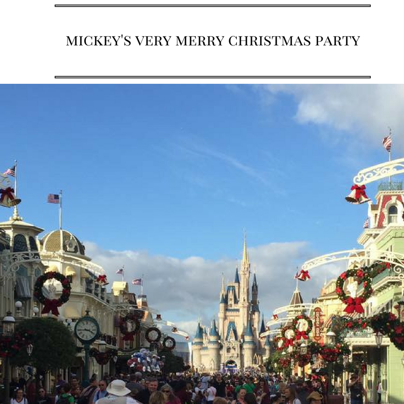 Great Tips for Mickey's Very Merry Christmas Party