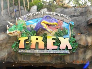 T-Rex Dining Review at Walt Disney World