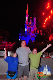 Photopass and Fireworks at Walt Disney World