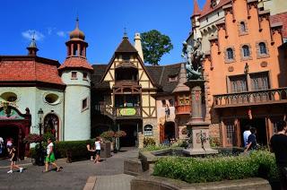 Epcot's Germany Pavilion at Walt Disney World