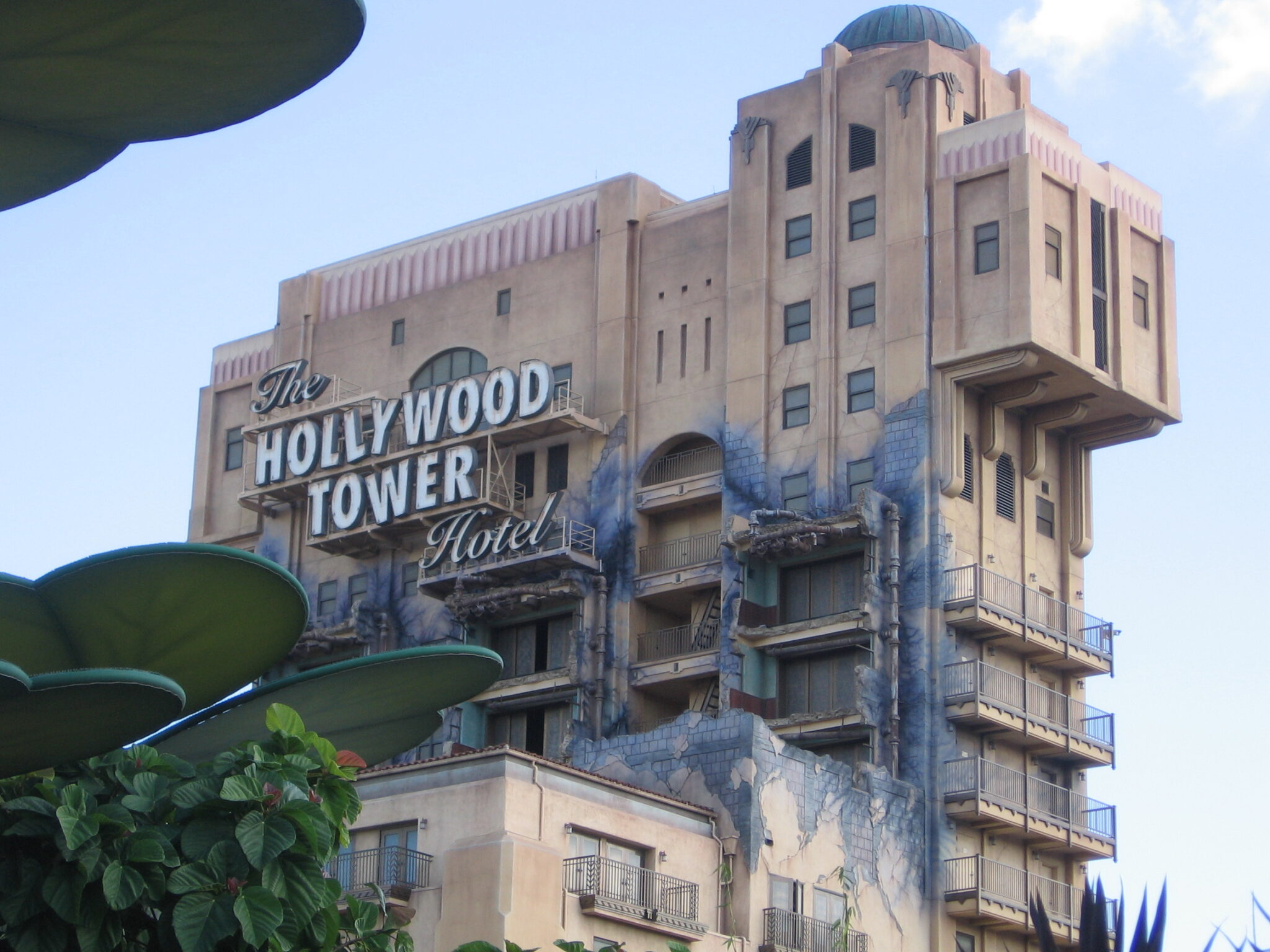 The Twilight Zone Tower of Terror in Disney's California Adventure Park- Ride Review
