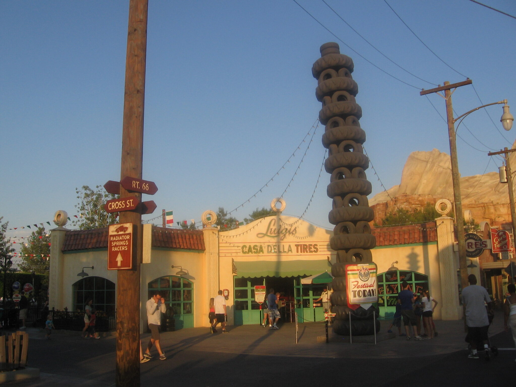 Luigi's Flying Tires at Disney's California Adventure Ride Review