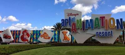A Walk Around Disney's Art of Animation Resort at Walt Disney World