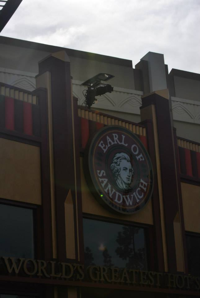 Earl of Sandwich Review from Downtown Disney Disneyland
