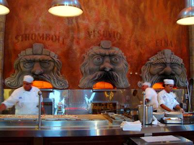 Dining at Via Napoli Ristorante e Pizzeria at Epcot in Walt Disney World