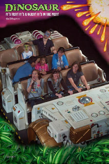 Animal Kingdom's Dinosaur Attraction at Walt Disney World