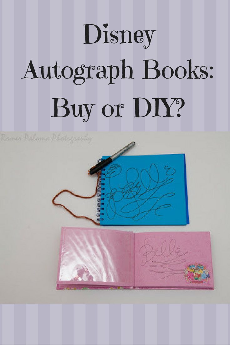Where To Buy Disney World Autograph Books