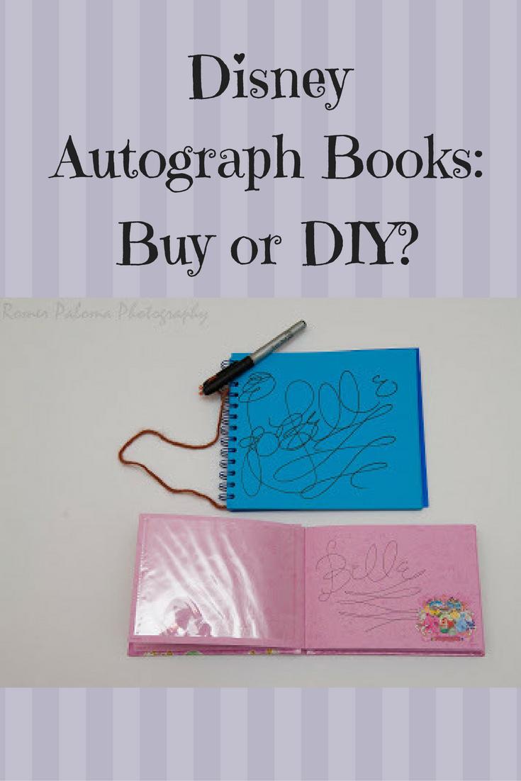 Where To Buy Disney Autograph Books