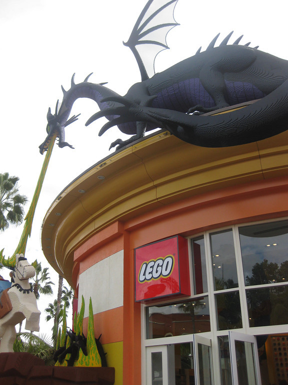 The Disneyland Resort The Lego Store At Downtown Disney