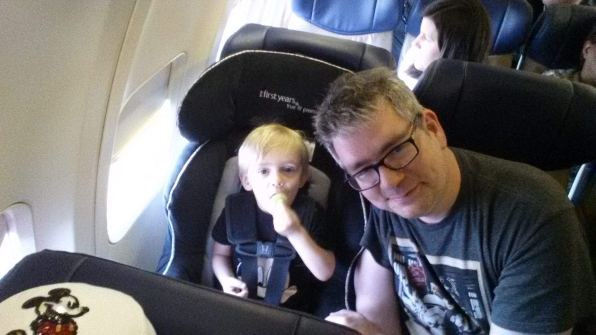 Car Seat On Airplane: Trippin' With The Toddler To