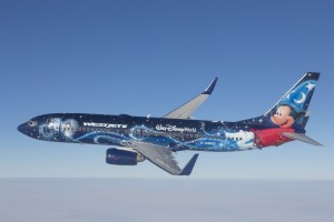 Disney's Magic Plane by WestJet
