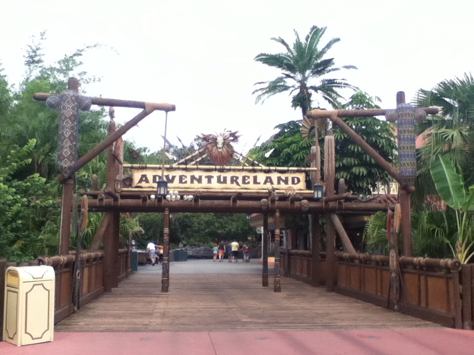 Adventureland at Walt Disney World's Magic Kingdom