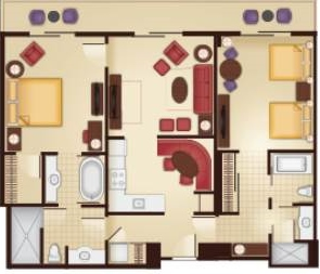 Blt Studio Disney Floor Plan Bay Lake Tower At Disney S