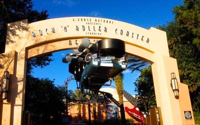 Walt Disney World's Rock 'n' Roller Coaster at Hollywood Studios