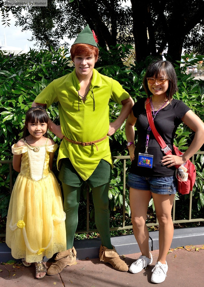 Walt disney world tips for the last day of your vacation tips meeting peter pan on the fly during our last day at magic kingdom kristyandbryce Image collections