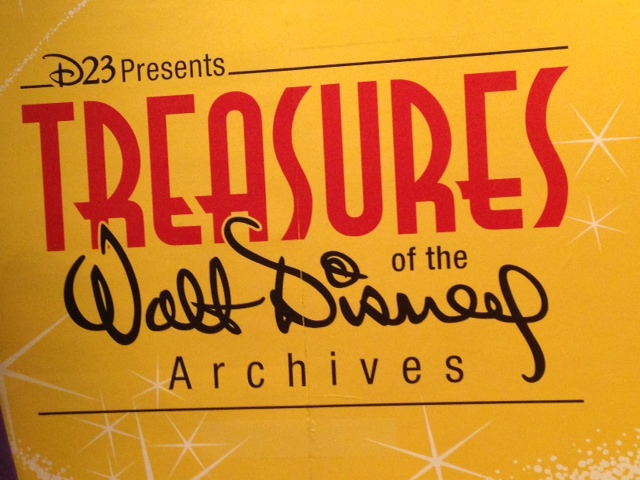 D23 Treasures Of The Walt Disney Archives Exhibit Tips From The