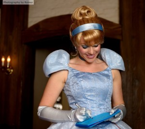 Get an autograph from your favorite Princess at one of the Princess Character Meals!