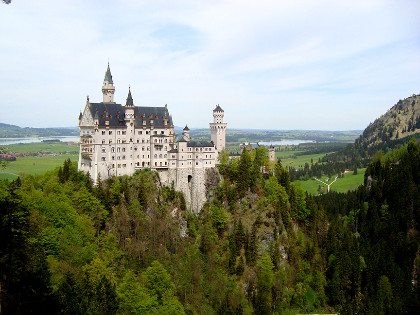 The Real Life Sleeping Beauty and Cinderella Castles