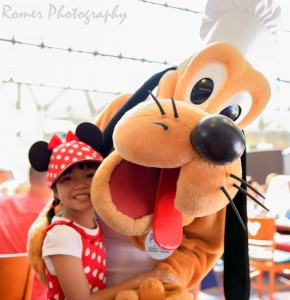 Pluto Character dining