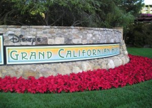 Entrance to the Grand Californian