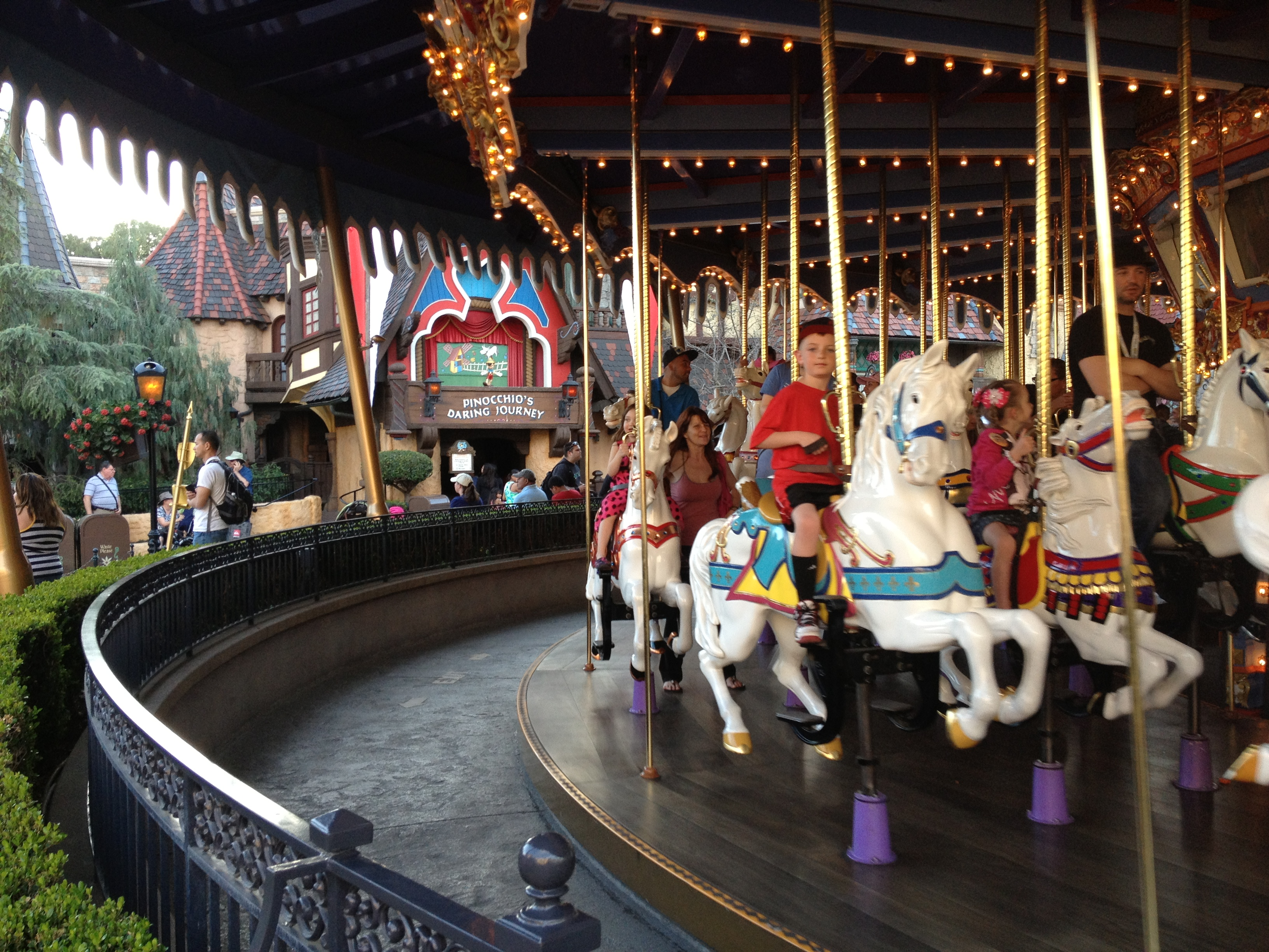 King Arthur's Carousal at Disneyland