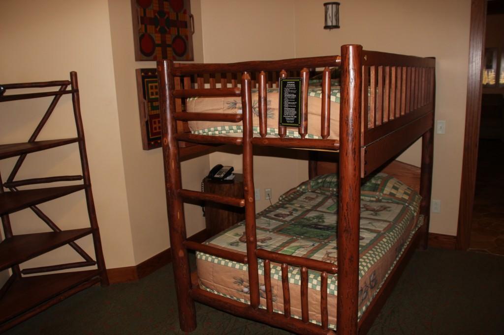 Treehouse Villas - Bunk Beds