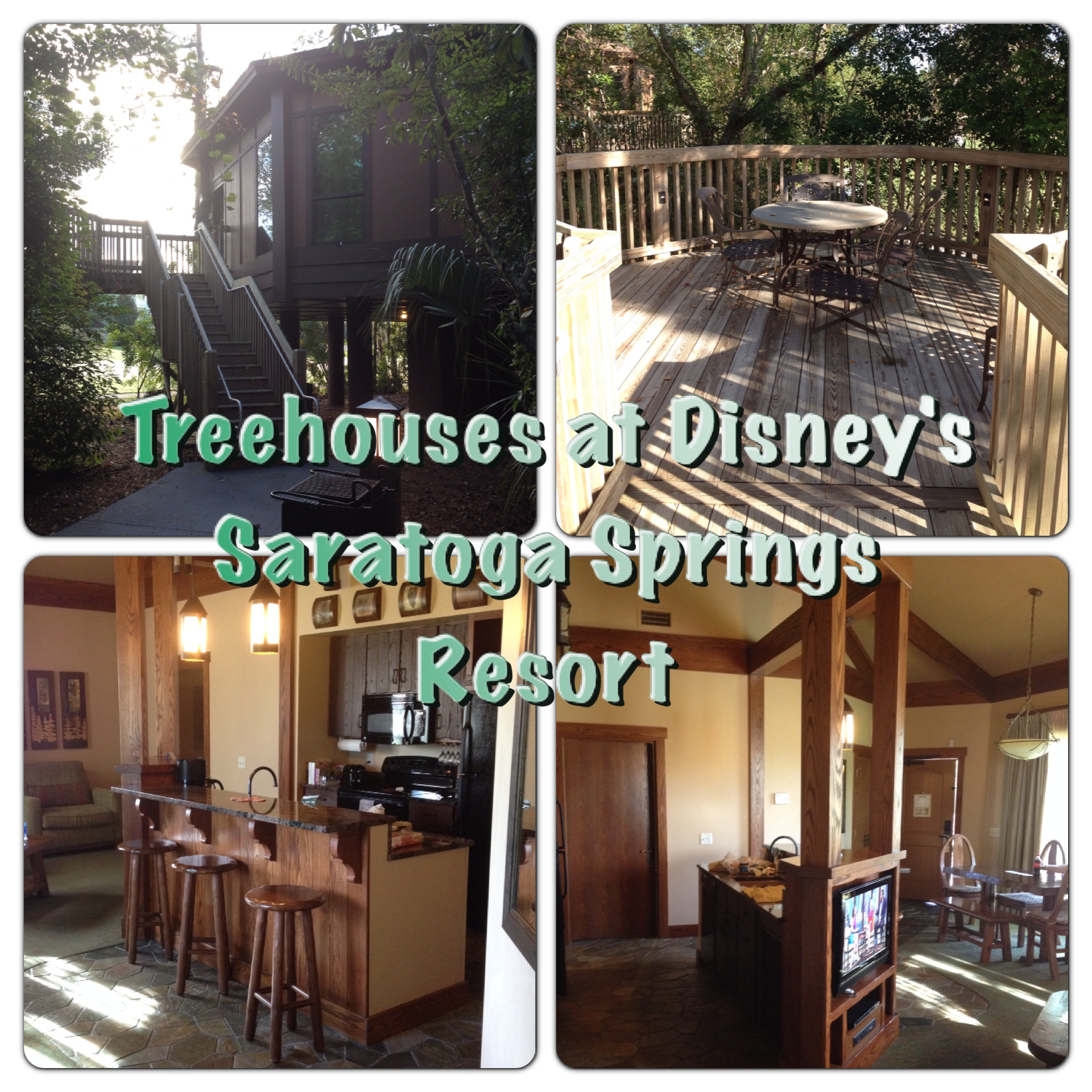 Treehouse Villas At Walt Disney World S Saratoga Springs