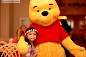 Love Pooh? You can meet him at Crystal Palace in Magic Kingdom, or at 1900 Park Fare (pictured above).