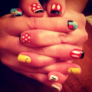 Win These Cute Disney Nail Wraps Tips From The Disney