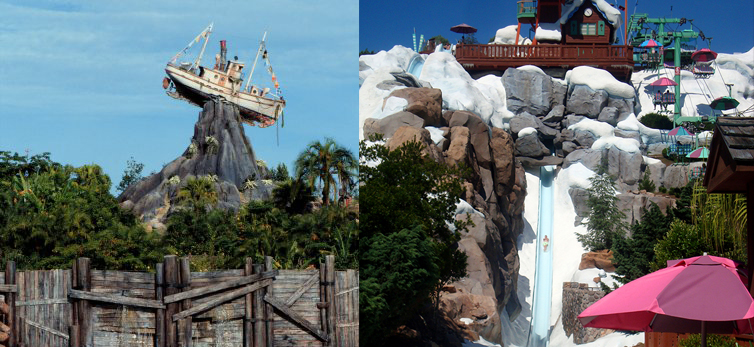 Typhoon Lagoon vs. Blizzard Beach at Walt Disney World