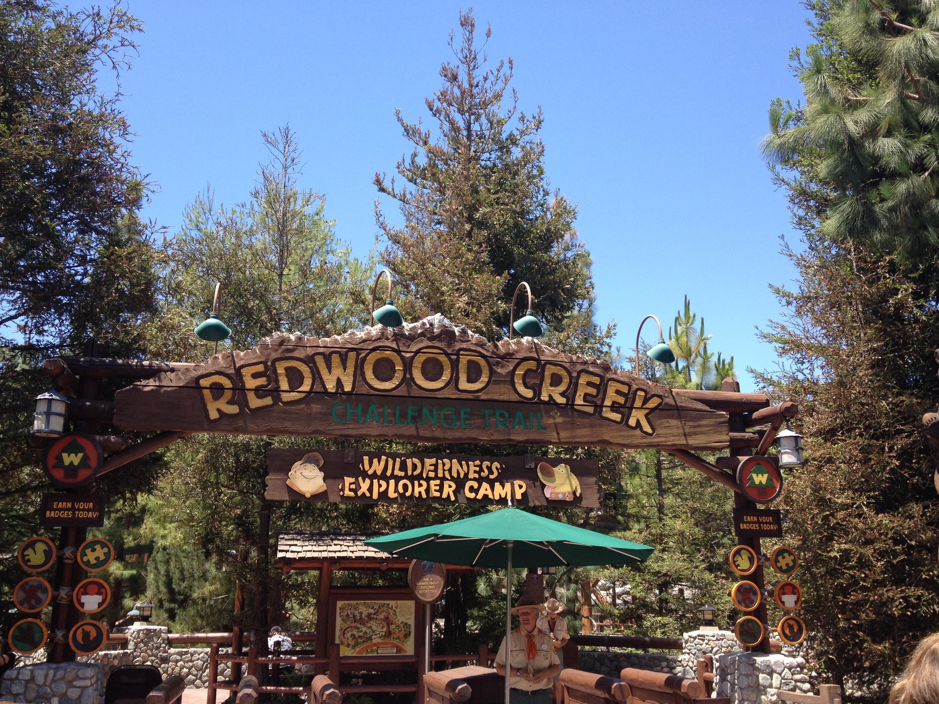 Redwood Creek Challenge Trail at Disney's California Adventure