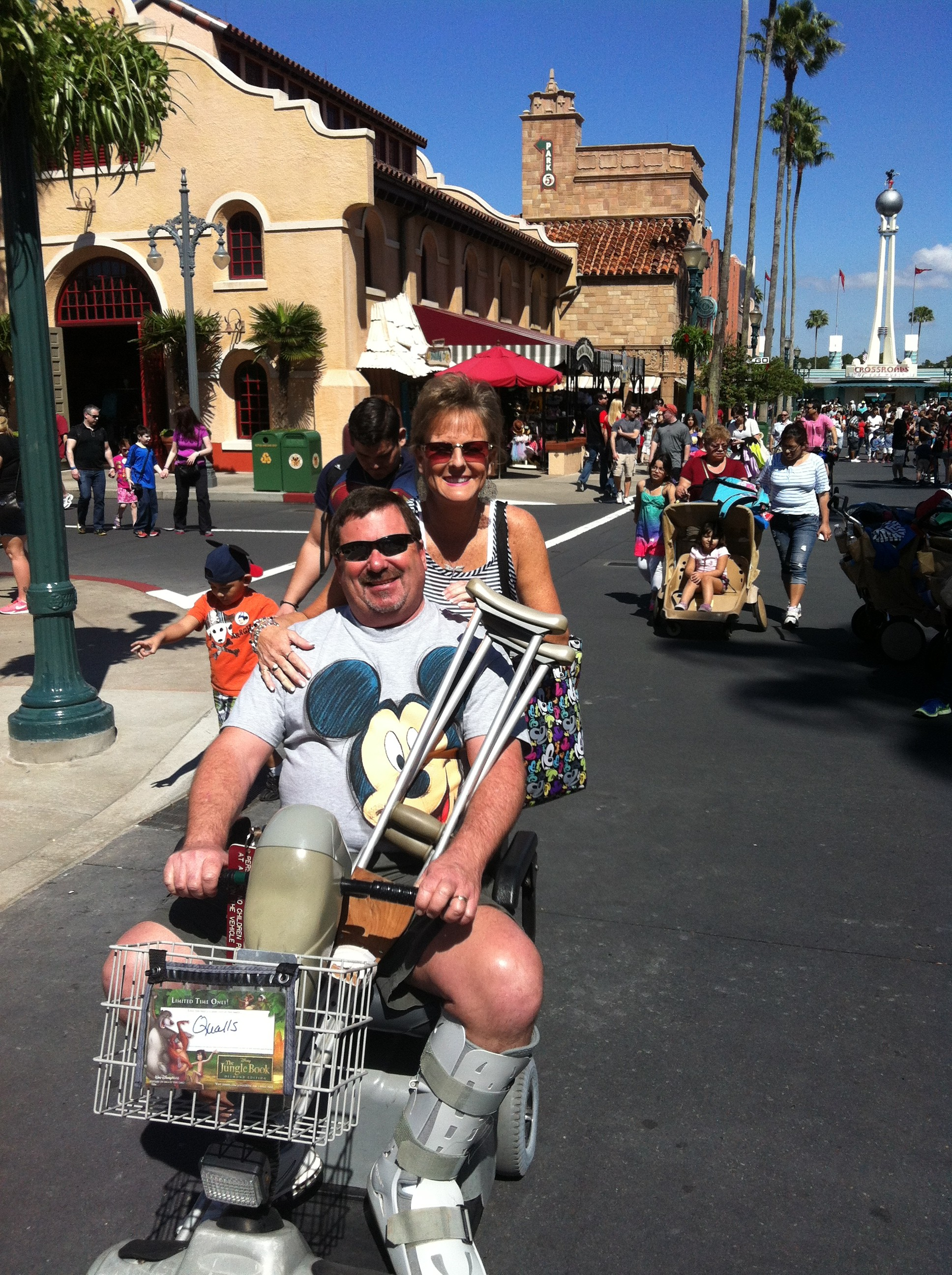 Injuries Happen Even at Walt Disney World - Tips from the