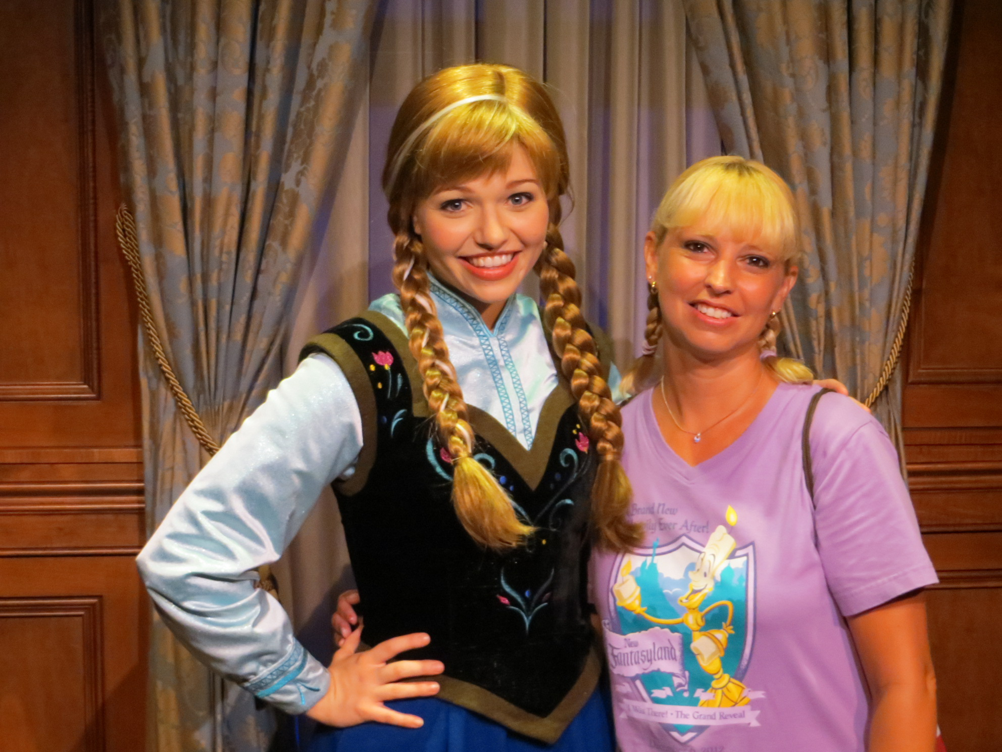 Frozen at the Magic Kingdom in Walt Disney World