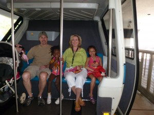 DISNEY Easter Lucas family in the monorail  2013_0005