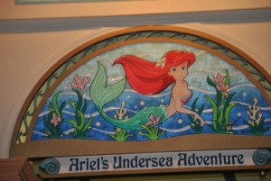 Information about Ariel's Undersea Adventure at California Adventure