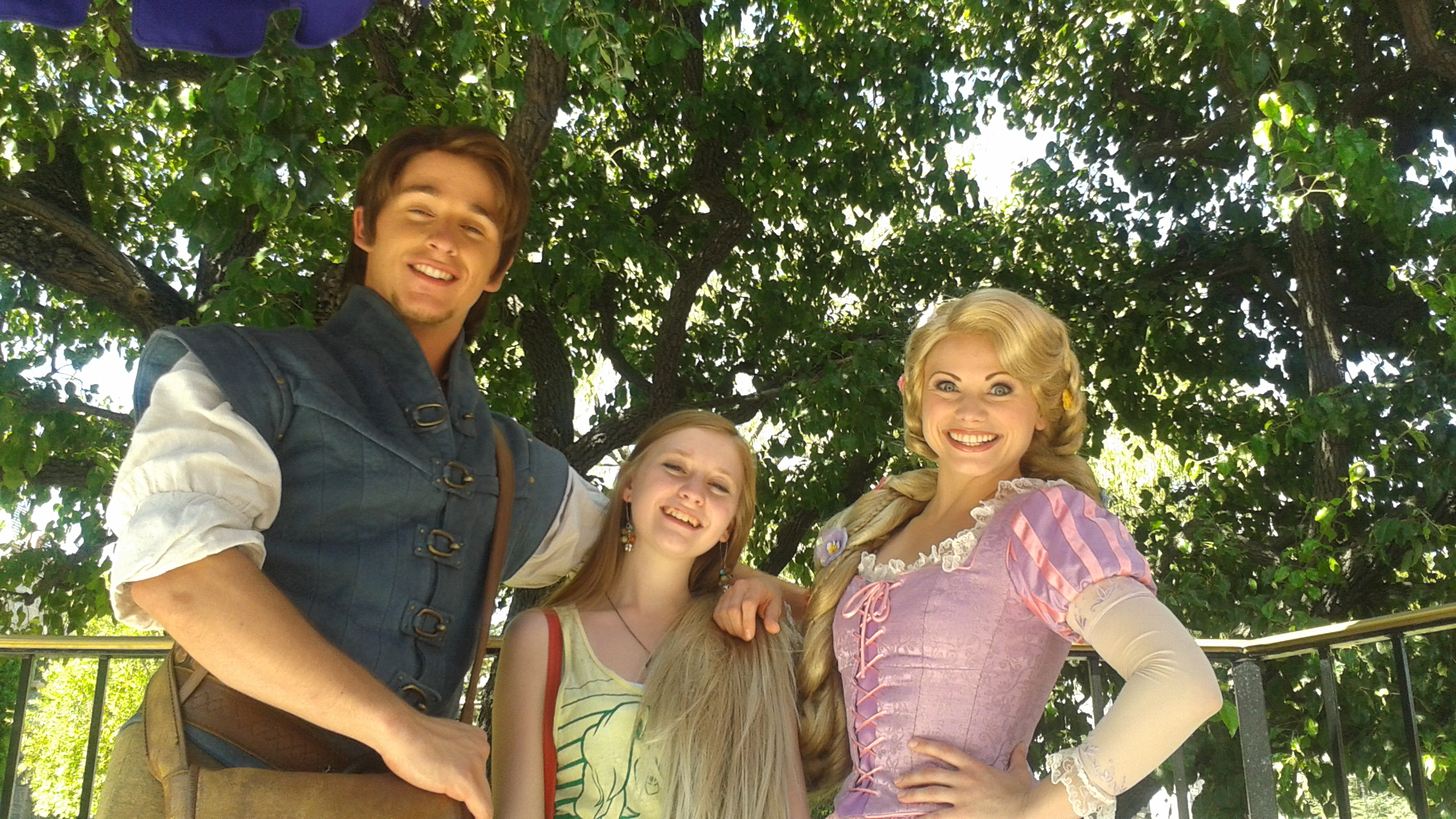 Meet And Greet With Rapunzel And Flynn Rider At Disneyland Tips