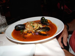 Seafood Cioppino / Disney's Hollywood Brown Derby