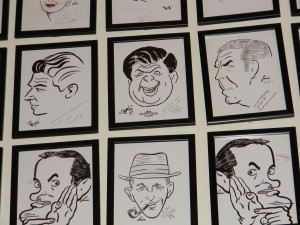 Pictures in Disney's Hollywood Brown Derby