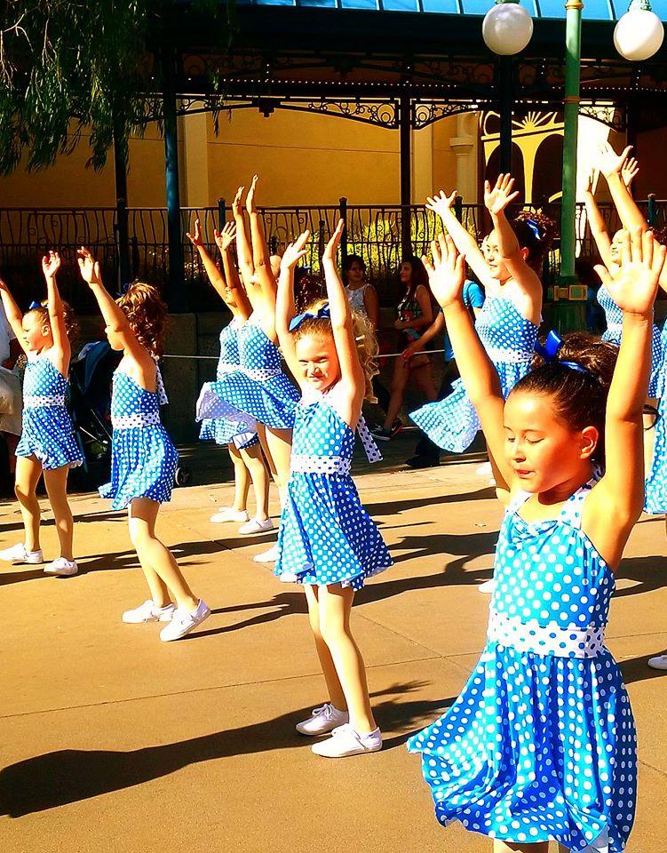 Disneyland Dancing