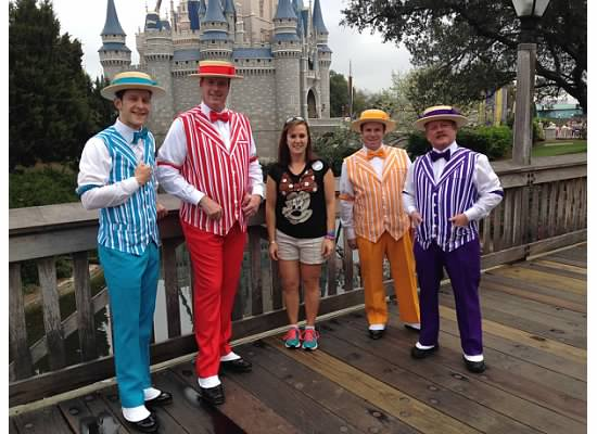 They Do Exist! Dapper Dans at Walt Disney World