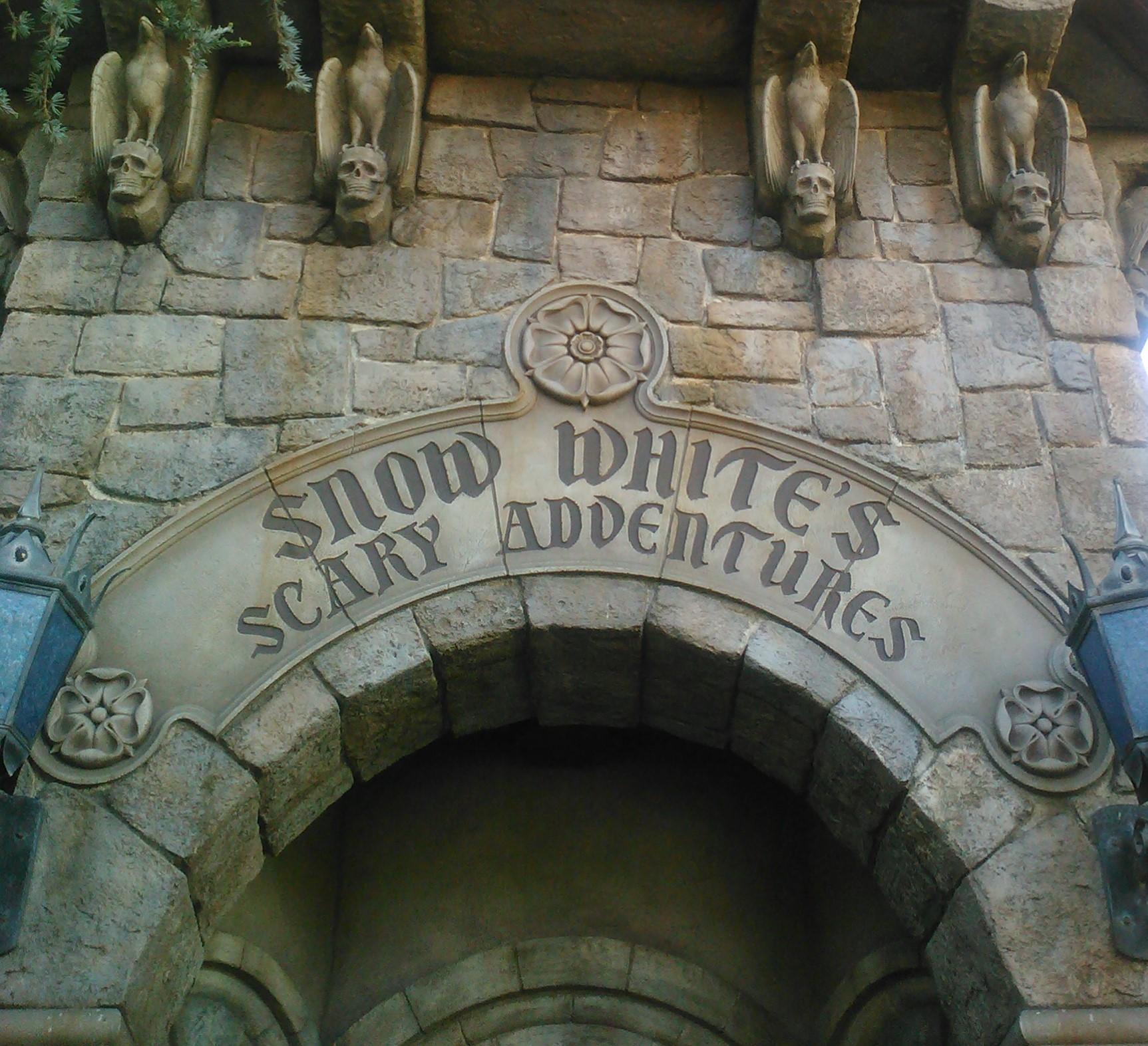Disneyland's Snow White's Scary Adventures- Review