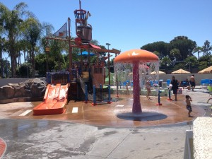 Why You want to Stay at Howard Johnson Anaheim's Hotel... The Water Play Area!