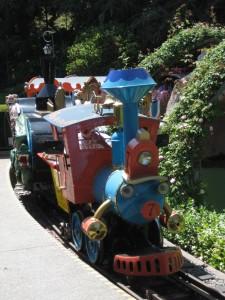 Disneyland's Casey Jr.