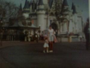 Mum and I at Disney circa 1974