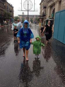 Rain at WDW