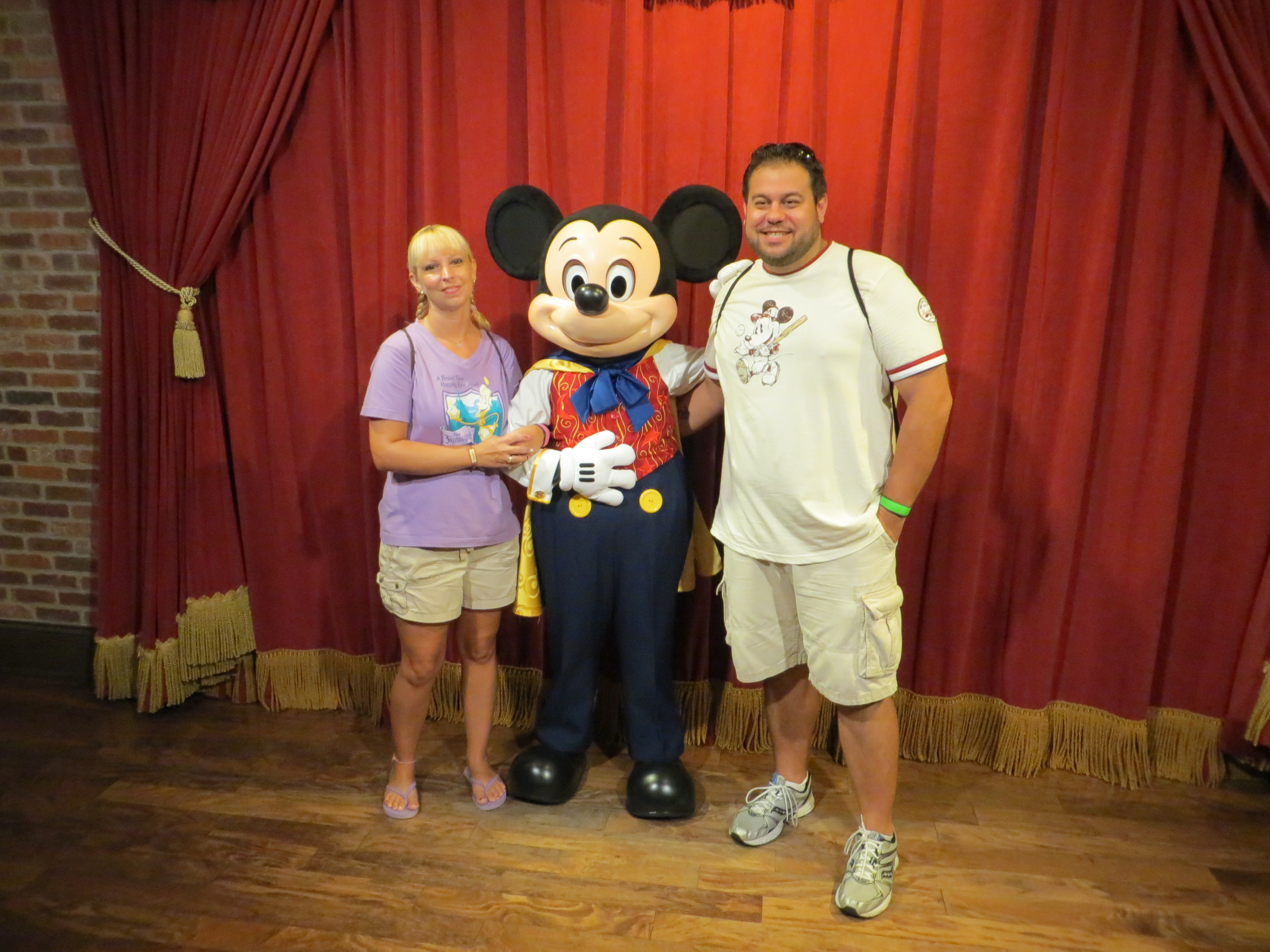 Talking Magician Mickey at Disney World's Magic Kingdom